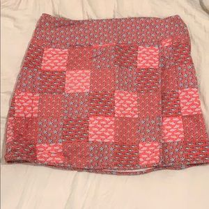 Vineyard Vines skirt size 4 *broken zipper*